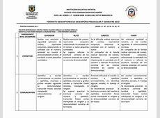 Calaméo - Descriptores primaria JT II-2012 Lenguas Générales