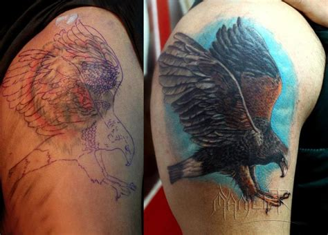 tattoo cover up nj eagle tattoo cover up manjeet tattooz
