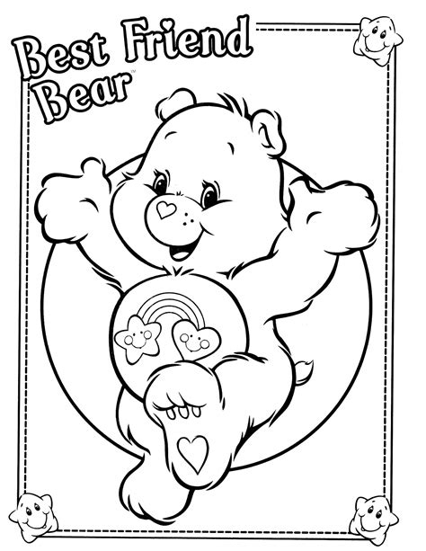 care bears 35 coloringcolor com