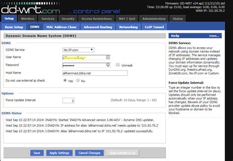networking ddns   ip   work super user