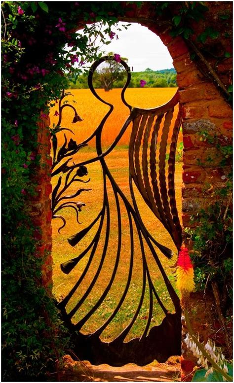 Angelic Gardens by 5 Unique Garden Gate Designs That You Ll Surely Like
