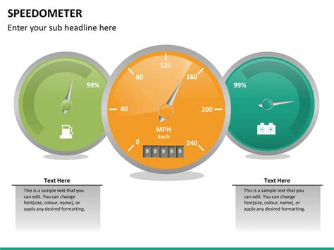 speedometer template speedometer powerpoint template sketchbubble