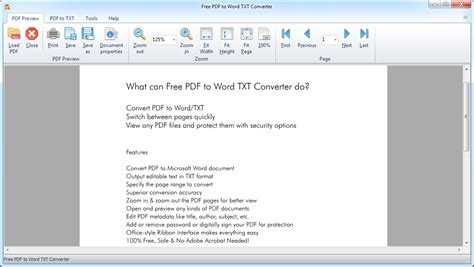 convert pdf to word secure free pdf to ms word txt converter software free pdf to