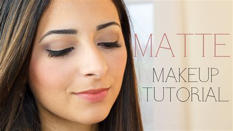 mattes make up matte makeup tutorial le