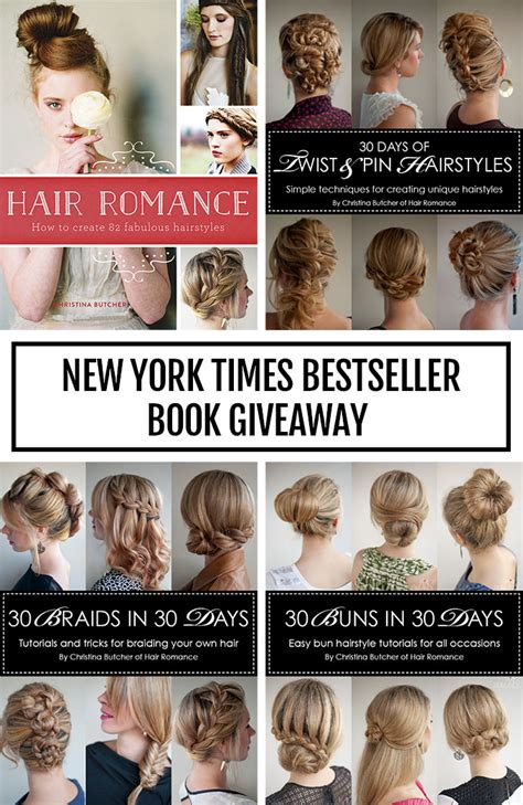 New York Giveaway - hair romance new york times bestseller giveaway hair romance