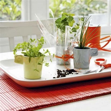 Tin Kitchen Canisters 25 cool diy indoor herb garden ideas