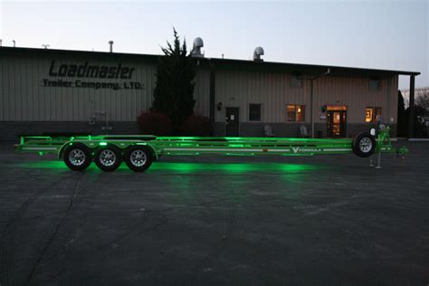 Boat Trailer Light by Custom Boat Trailer Lighting Loadmaster Trailer Co