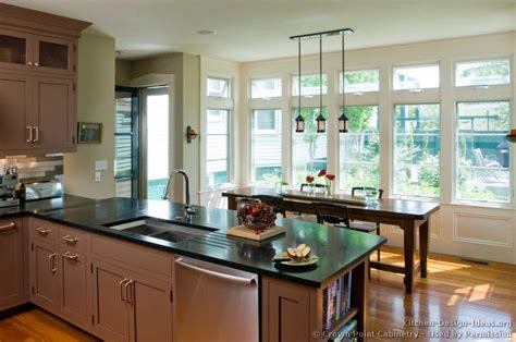 kitchen peninsula ideas transitional kitchen design cabinets photos style ideas