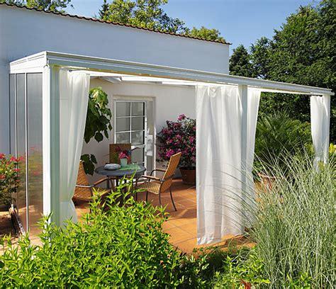 vorhang set gr 246 223 e 3 f 252 r terrassen 220 berdachung exklusiv - Terrasse Vorhang