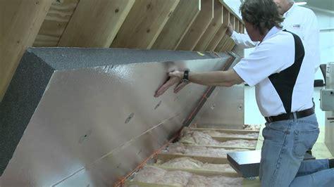 installing  radiant barrier   attic alternative