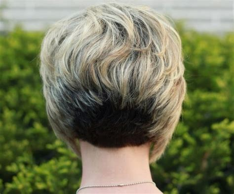 show stacked bob in back of head stacked bob haircut pictures back head best choice