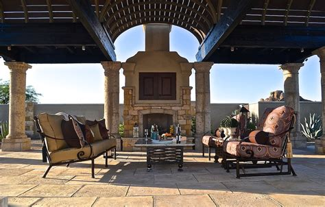 Unique Patio Creations Wrought Iron Outdoor Living Patio Arizona Outdoor Furniture
