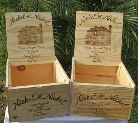 Wine Box Wedding Card Holder