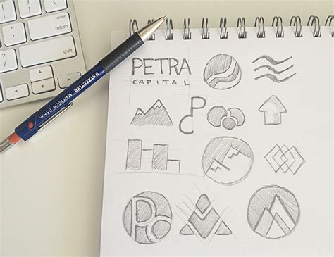logo sketch a systematic logo design process