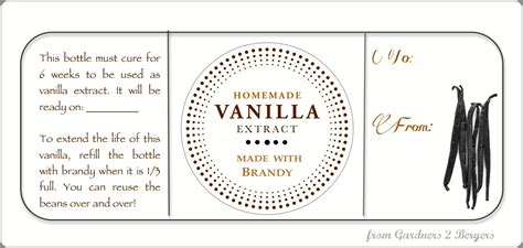 from gardners 2 bergers homemade vanilla extract printable
