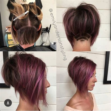 what edgy colors mix well in hair short edgy haircut short hair pinterest edgy