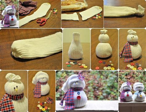 sock snowman how to make them how to make sock snowmen pictures photos and images for