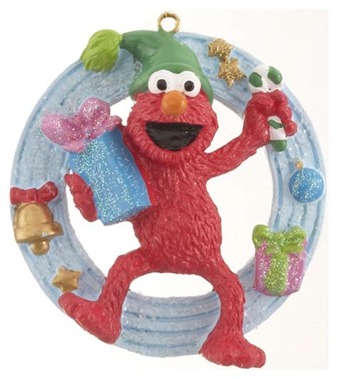 elmo personalized ornament