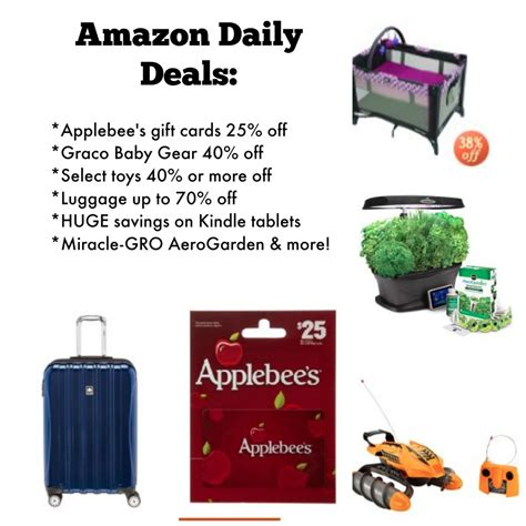 amazon deals amazon daily deals graco baby gear kindle tablets toys