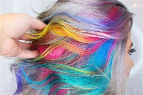 hair coloring styles 28 cool rainbow hair color ideas trending for 2018