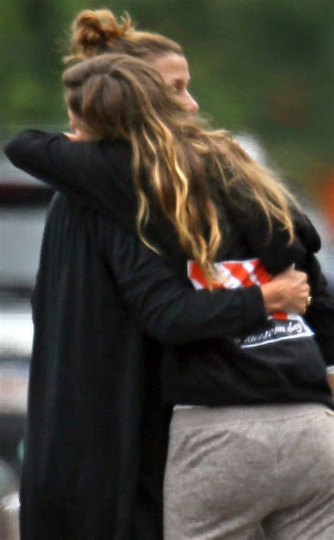 Bridget Moynahan News Pictures And Videos E Online | gisele b 252 ndchen hugs tom brady s ex bridget moynahan see