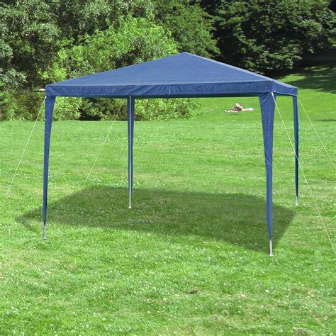 Pavillon Seitenteile 3x3 by Garten Pavillon Pavillion Zelt Blau 3x3 M 4