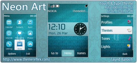 themes reflex nokia c2 02 neon art theme for nokia asha 303 300 x3 02 c2 02 touch