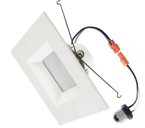 40 hertz led lights 12 downlight square trim 6 inch 15w led recessed