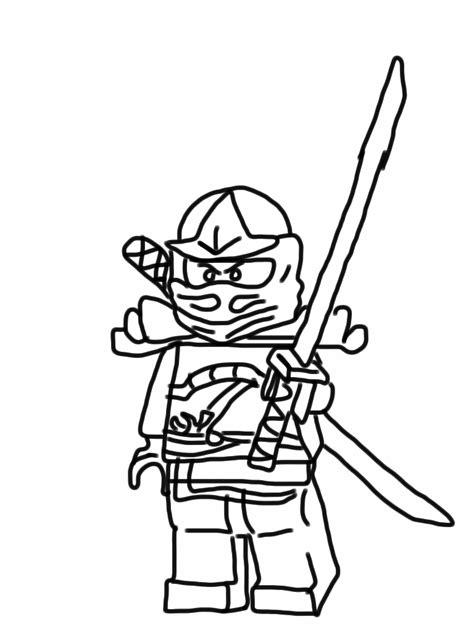 ninjago coloring pages kai 2015 20171017220531 get