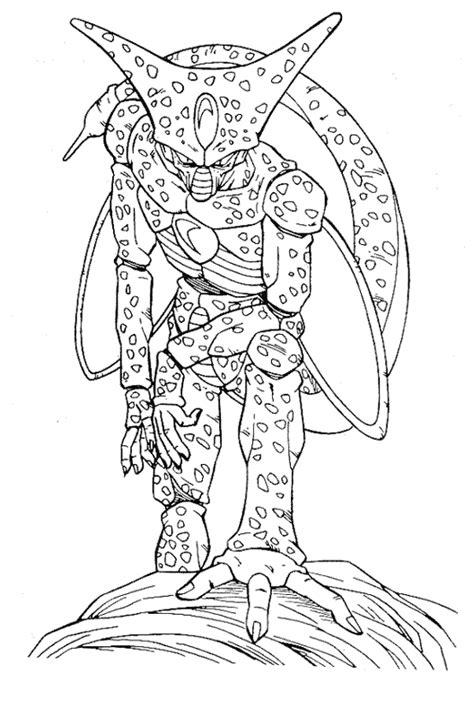 imagenes para colorear a dragon ball z dibujos para colorear de dragon ball z