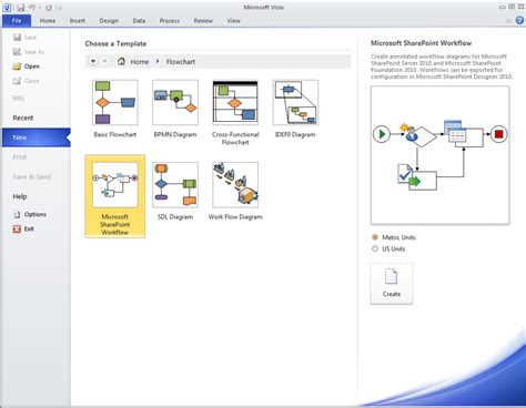 sharepoint designer workflow templates sharepoint for dummies how to create workflow in visio