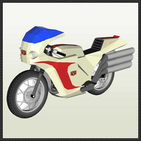 Motorcycle Papercraft - 301 moved permanently