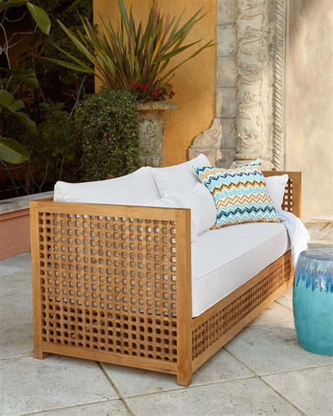 Moroccan Teak Outdoor Sofa Frame Contemporary Outdoor Moroccan Outdoor Furniture