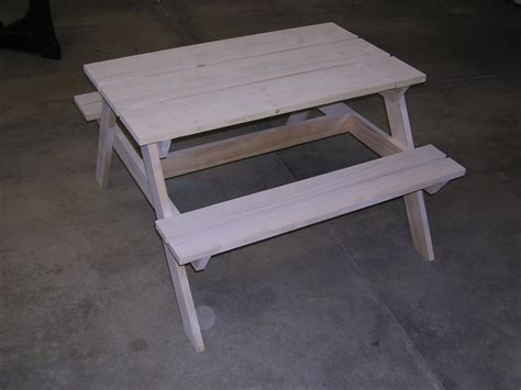 small picnic bench small wood crafts plans for picnic table