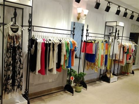 Clothing Store Racks And Shelves Iron Clothing Rack Clothing Store Display Shelf Creative