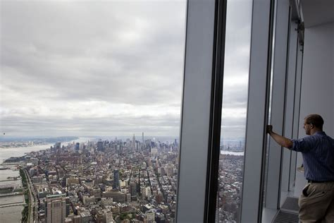 One S View Of The World new york atop one world trade center high tech views of bustling nyc