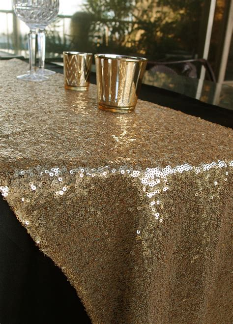gold sequin table runner sequin table runner gold 12 x 108