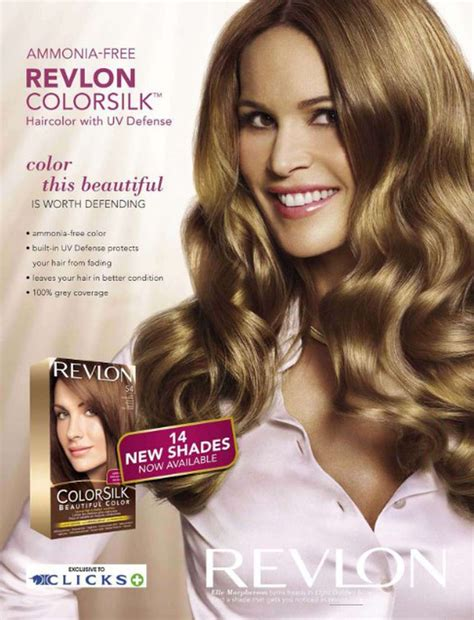 Macpherson Is The New Of Revlon by Revlon Contract 2009 S S 09 Revlon
