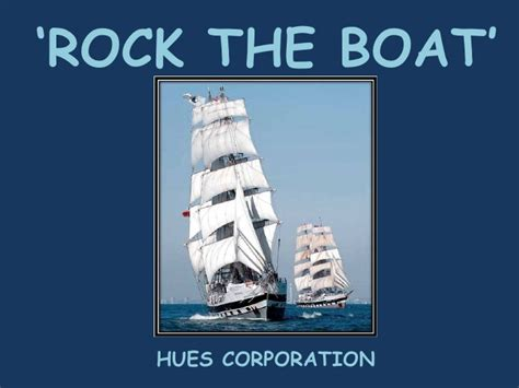rock the boat the hues corporation rock the boat