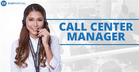 what does a call center manager do