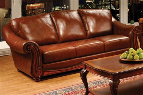 All Leather Sofas by Dillion All Leather Sofa At Gardner White