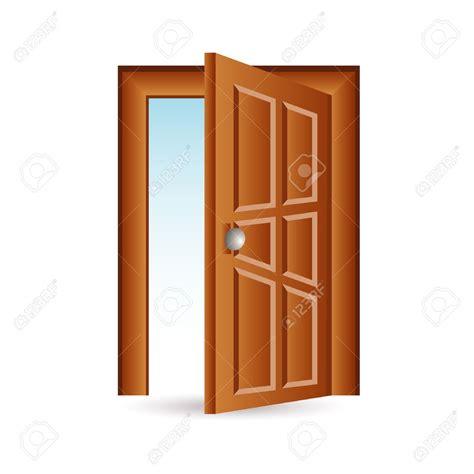 front door open front door open stock vector illustration and royalty free door design