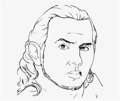 free coloring pages of jeff hardy