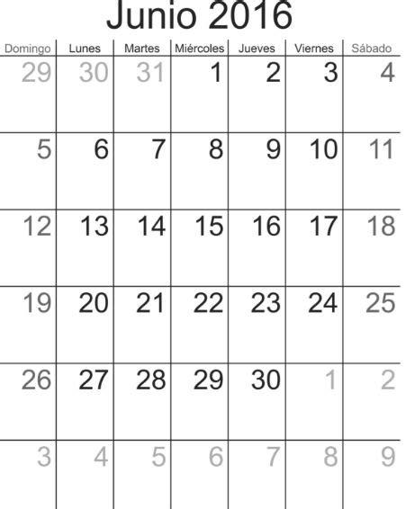 Calendario Por Mes 2016 Calendario 2016 Mes Por Mes Para Imprimir