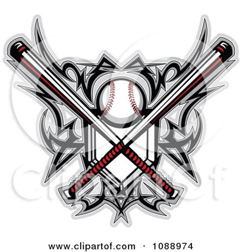baseball tatoo clipart
