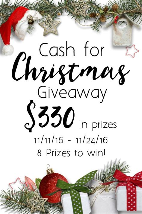 Christmas Giveaways For Customers - cash for christmas giveaway the mom of the year