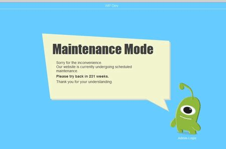 kelebihan membuat blog di wordpress membuat blog maintenance mode dani setiyawan