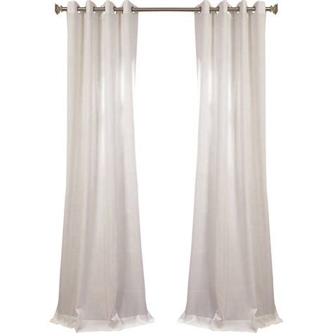 half priced drapes com half price drapes semi opaque single curtain panel