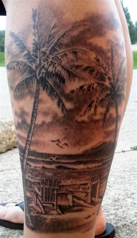 beach scene tattoo 60 awesome tattoos nenuno creative