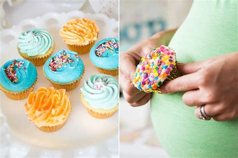 Sprinkles Baby Shower Cupcakes by Sweetly Feature Confetti Sprinkles Baby Shower